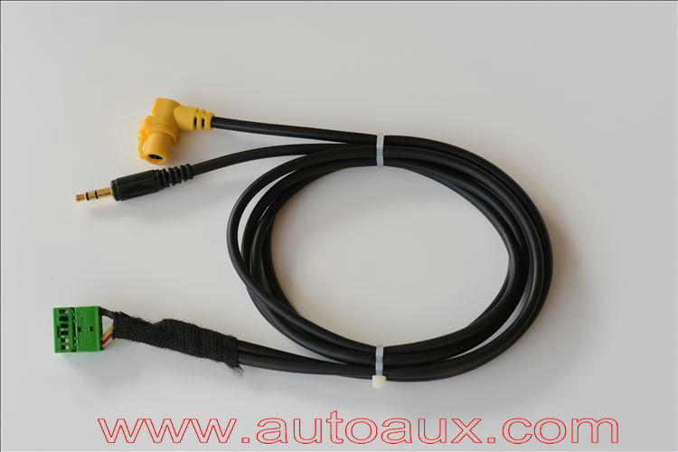 3.5mm Aux input cable adapter for Audi MMI 3G