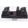 5K4959857 OEM 5ND959857 Chrome Driver Side Master Window Switch For VW Jetta Golf GTI MK5 MK6 Passat