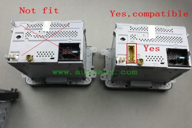 rns510 cvbs av decoder decoding emulator to aftermarket rear view rvc rns315 rcd510