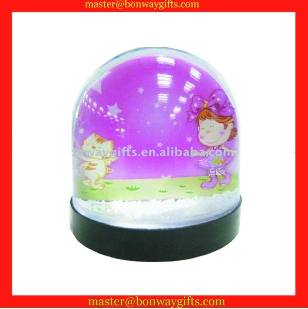 Plastic photo frame water ball
