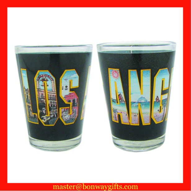 Colorful shot glass