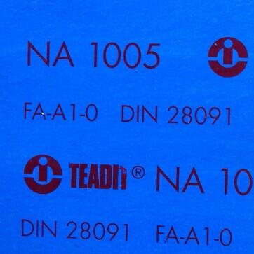 TEADIT NA1005 Non-Asbestos Gasket Sheet, NA Jointing Sheet NA-1005