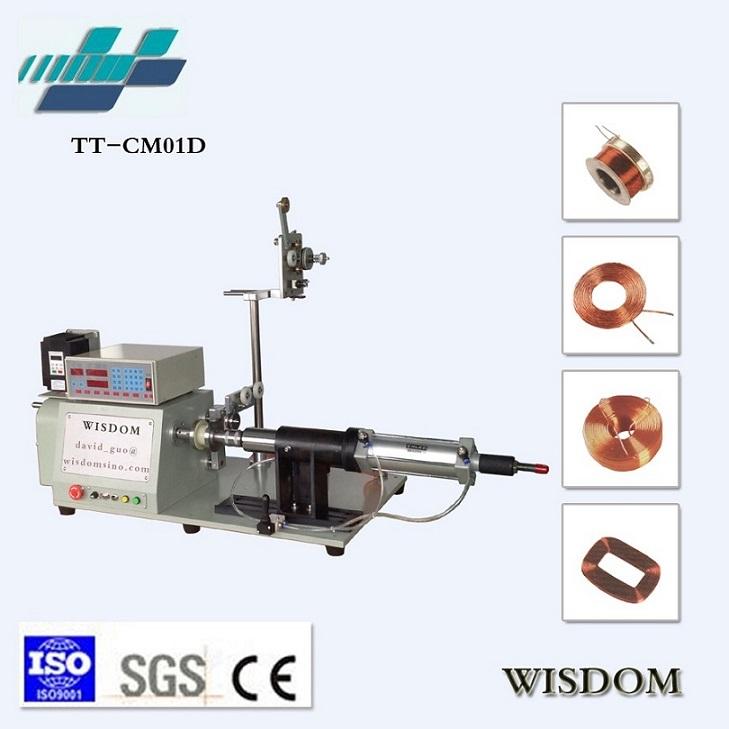 TT-CM01D Pneumatic Ejector Pins Winding Machine