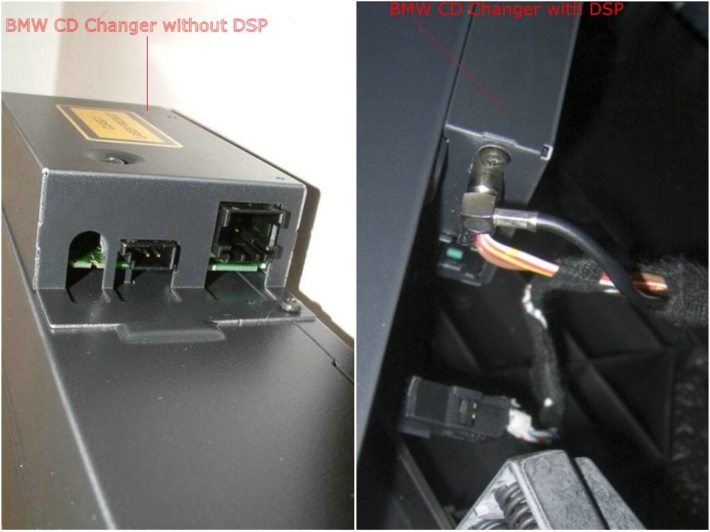 How can I know whether my BMW is with DSP or not? - China