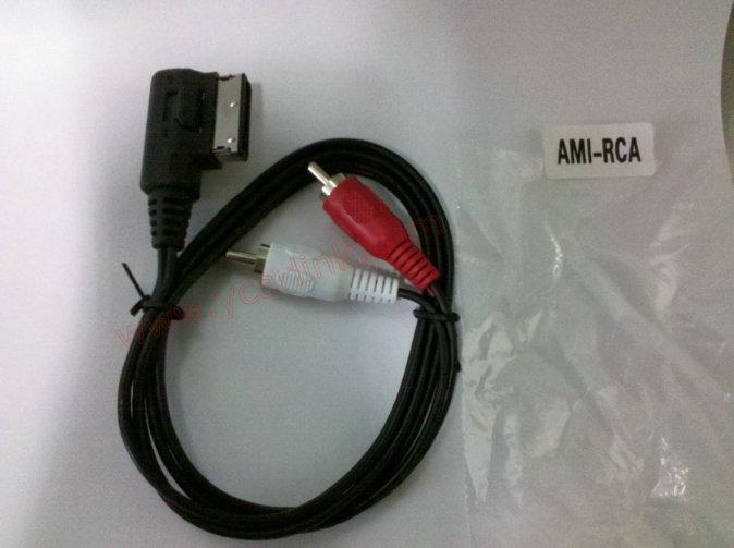 AMI RCA AV cable multi media interface for Audi AMI/VW MDI