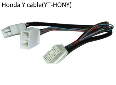 Honda/Acura/Goldwing 14pin Y adapter cable(YT-HONY) for audio Navi CDC tuning 2006-2012 models