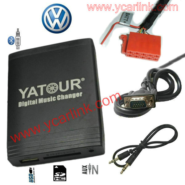 Digital CD Changer for VW Gamma 4 Head Unit 10-Pin-Yatour