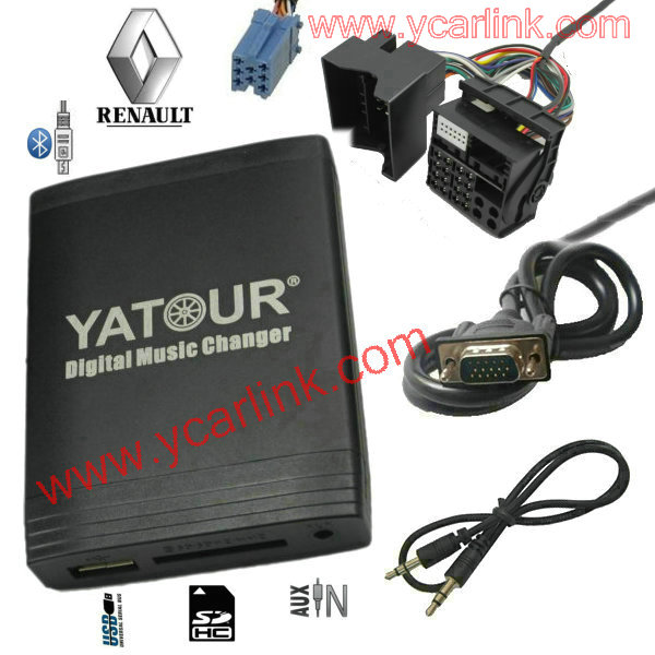 yatour renault mp3 12 pin quadlock digital mp3 usb sd aux. Black Bedroom Furniture Sets. Home Design Ideas