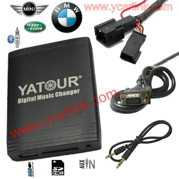Yatour Bmw Trunk Cd Mp3 Usb Sd Aux Interface Adapter