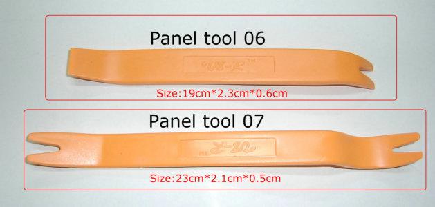No-Scratch Car Door Panel Trim Removal Tool Audio Refit Set