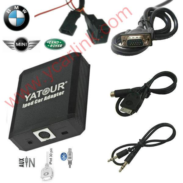 iPod/iPhone Car Integration kit for BMW/Mini trunk CDC 3pin+6pin