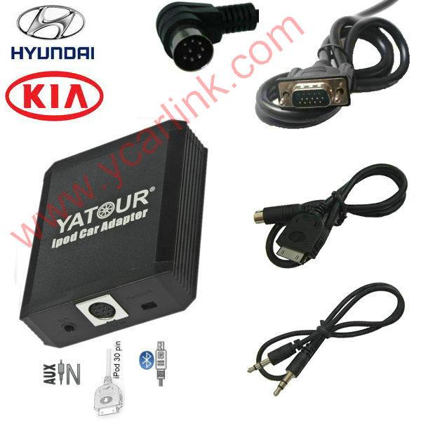 iPhone/iPod interface(CD changer adapter) for Hyundai 8pin