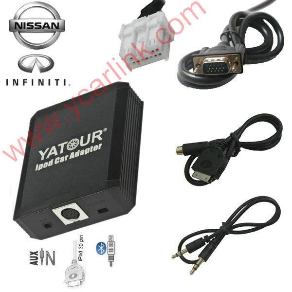 Yatour iPod Car Adapter  iPhone Integration Kit for Nissan Infiniti 2004-2011