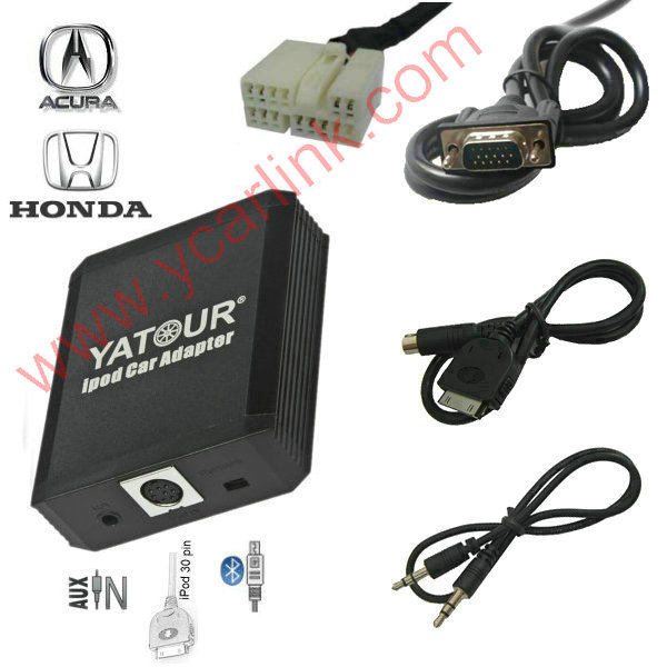 Yatour iPod Car Adapter iPhone  Integration Kit for Honda Acura 2004-2013