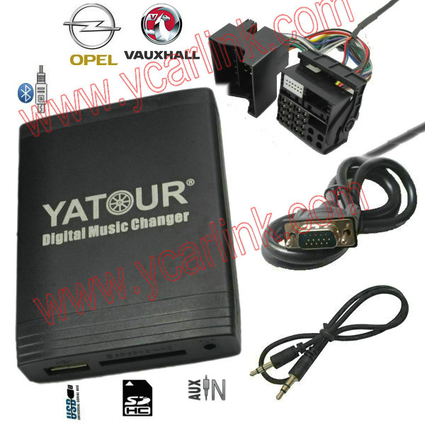 Opel Vauxhall Holden 2006-2010 Digital CD Changer -USB SD auxiliary in interface adapter Bluetooth