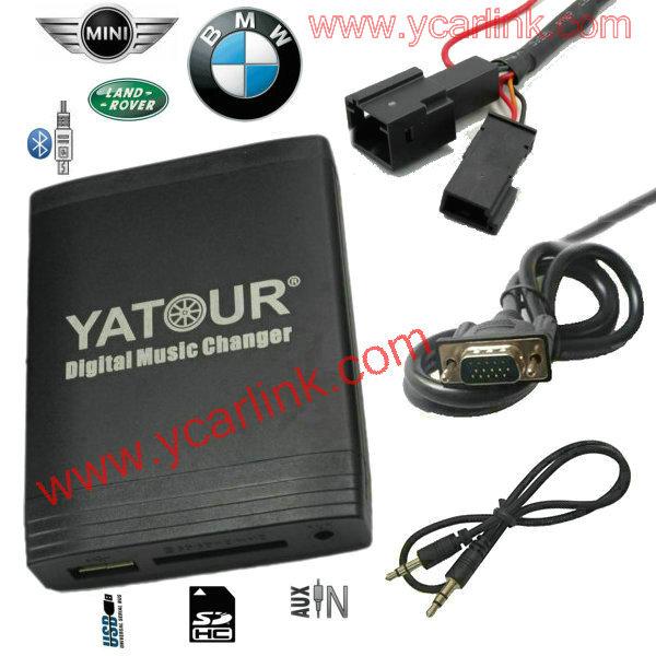 BM4H for 16:9 navigation BMW models - USB SD AUX Car Digital CD changer interface adapter