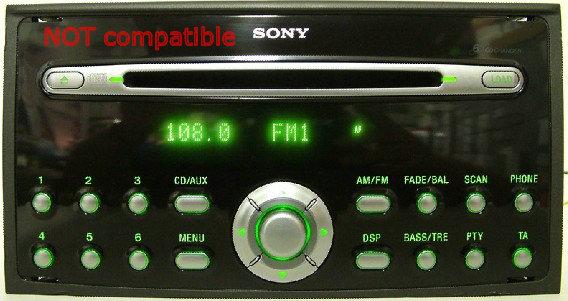 yatour ford quadlock digital usb sd aux mp3 bluetooth adapter rh ycarlink com Sony Disc Player Manual Sony Cdx GT06 Wiring-Diagram
