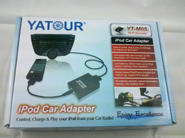 Yatour BMW Mini Cooper iPhone integration kit,iPod iPad CD Changer