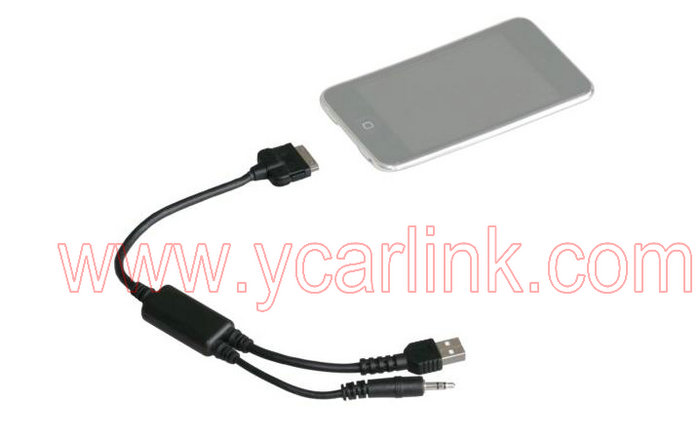 Bmw Mini Cooper Video Iphone Ipod Y Cable Interface
